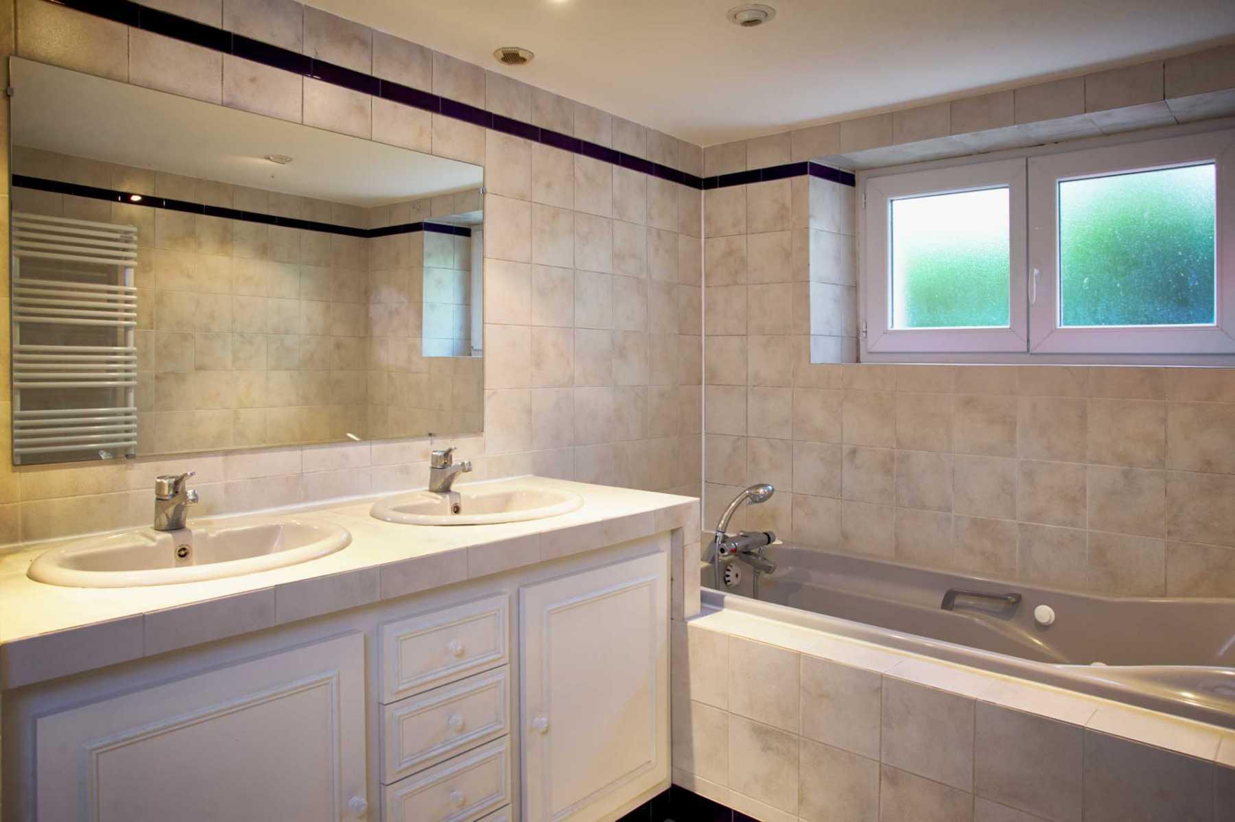 Salle de bain chambre 1 et 2